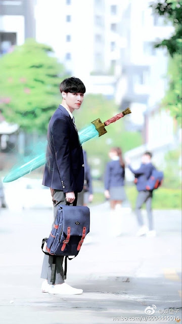 Zhang Yixing Lay Goblin Sword