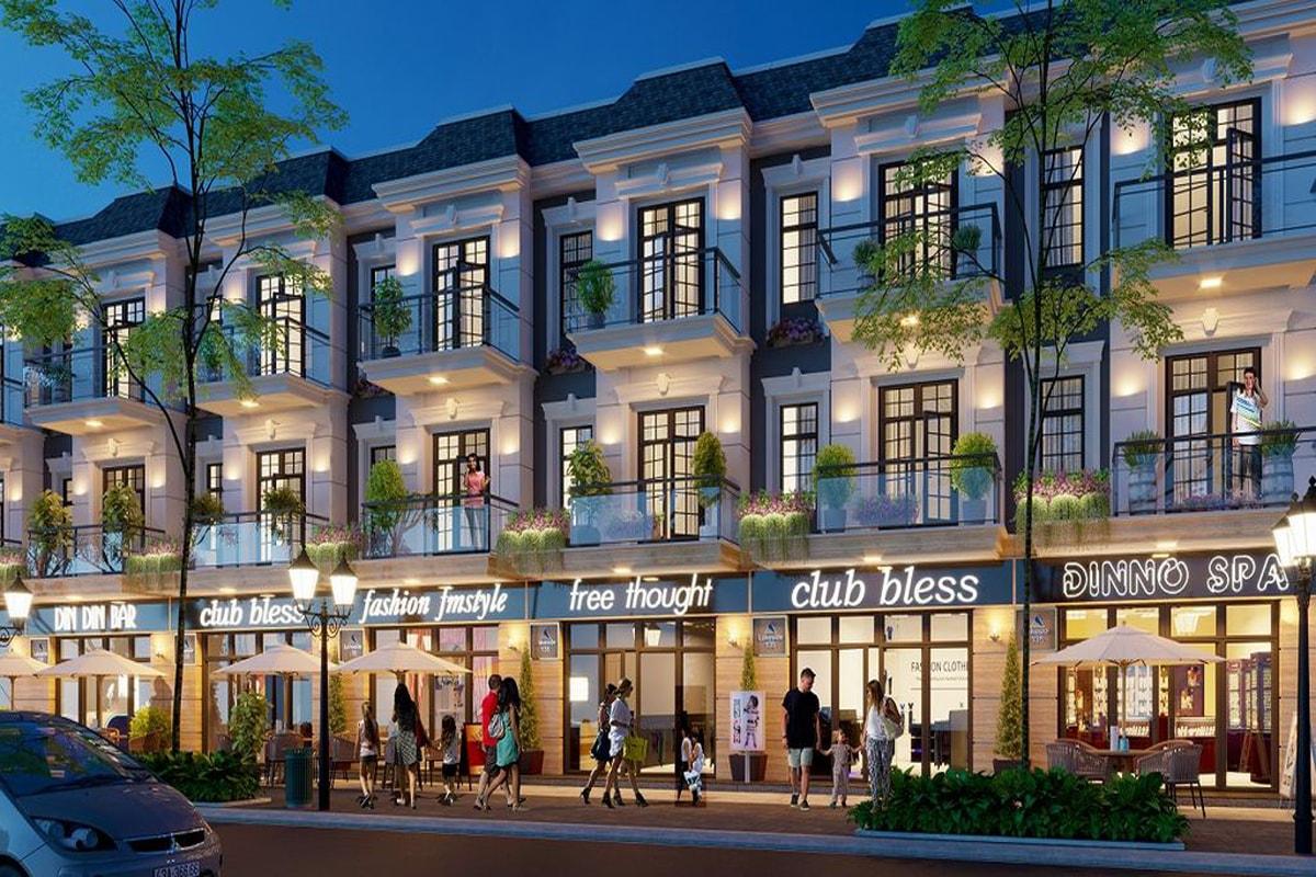 Shophouse dự án Tnr Stars Yên Bái