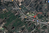 Bán 1035m2 có 300 thổ cư mặt tiền đường Rừng Sác, cách phà 6km