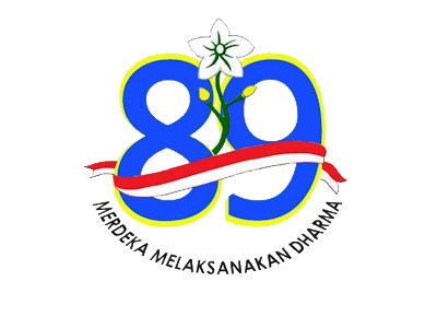 Logo Peringatan Hari Ibu ke 89 PNG