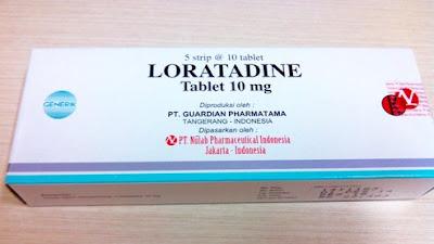 Harga Loratadine Obat Antihistamin Alergi Terbaru 2017
