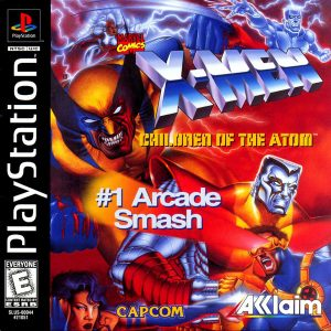 Download X-Men Children of the Atom - Torrent (Ps1)