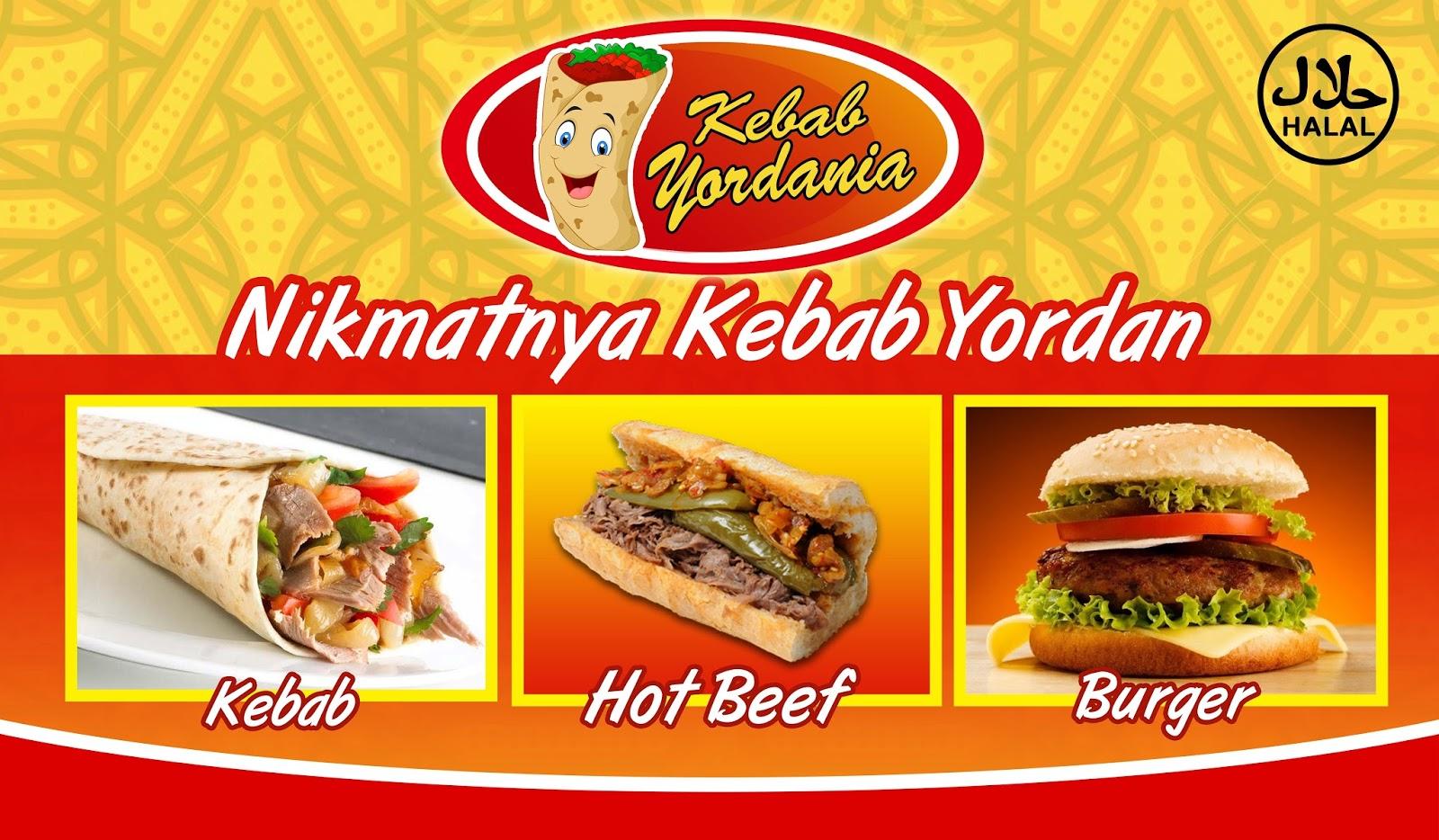 Spanduk Kebab Mini - contoh desain spanduk