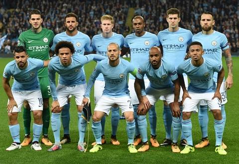 Man City là đội bóng tập hợp những cầu thủ đắt nhất trên thế giới