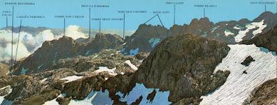 Gran panorámica de los Picos de Europa: Macizo Central, región de Aliva-Horcados Rojos