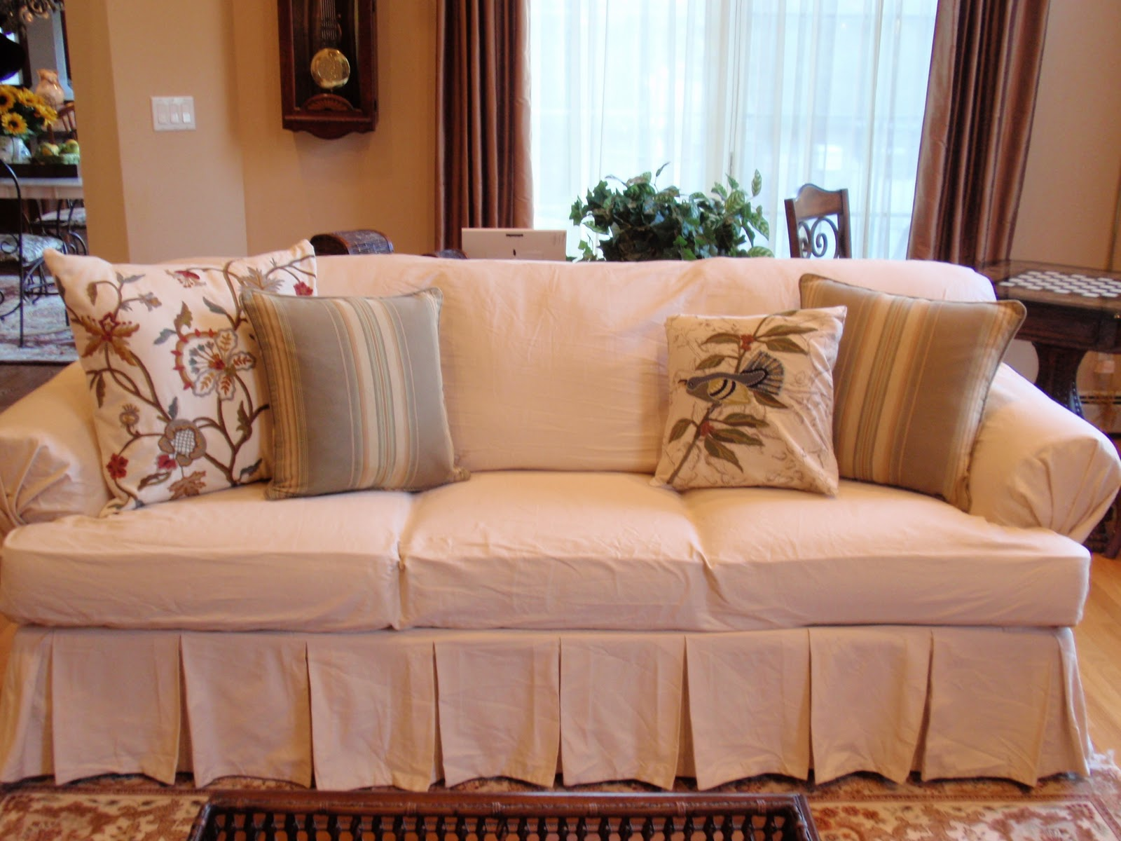 DIY by Design: Ugly Sofa Slipcover Giveaway