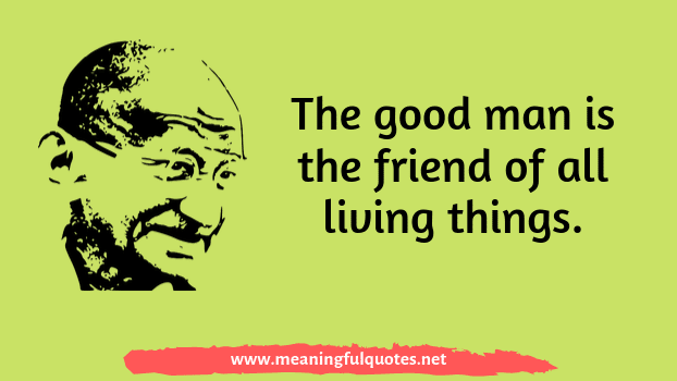 short Mahatma Gandhi quotes and sayings