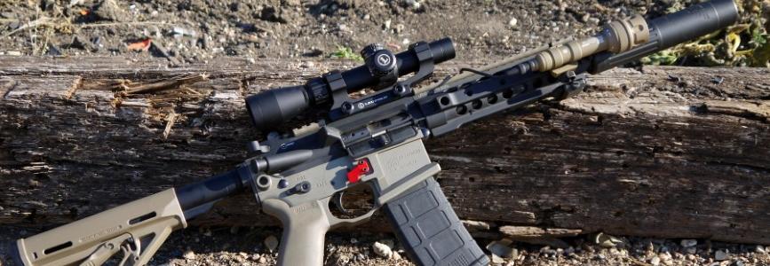 Будова та робота гвинтівки R-15 (3D - анімація)