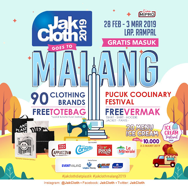 JAKCLOTH GOES TO MALANG 2019