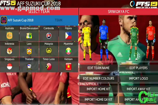 FTS Mod AFF Suzuki Cup v2 & All Europe Update Transfer