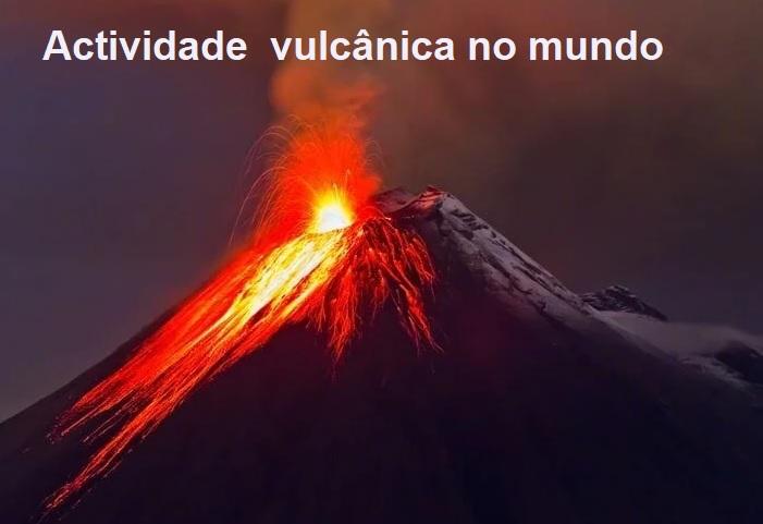 Actividade vulcânica no mundo