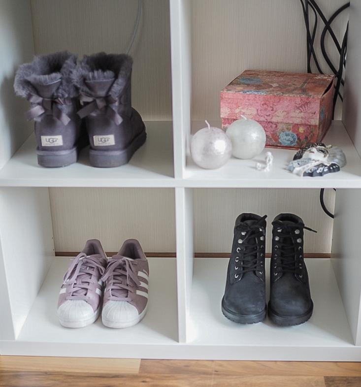 Shoe closet, UGG, Boots, Adidas Superstar