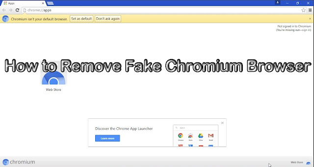 Fake Chromium Browser