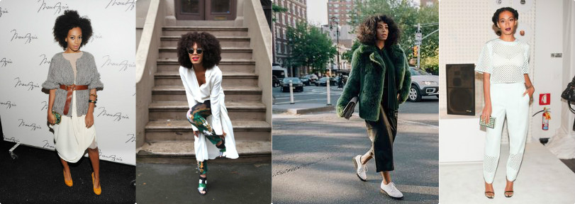 Solange Knowles Chic Style