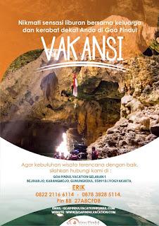 Pusat Reservasi Tiket Masuk Goa Pindul Yogyakarta,