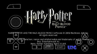 Harry Potter and the Half-Blood Prince PPSSPP Highly Compressed