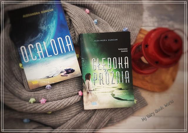 Alexandra Duncan - Ocalona & Głęboka Próżnia || Recenzja