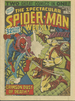 Spectacular Spider-Man Weekly and Marvel Comic #336, Carrion