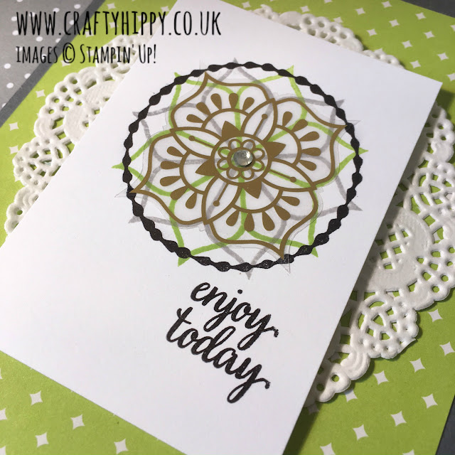 Gold Vinyl Stickers, Eastern Beauty, Stampin' Up!