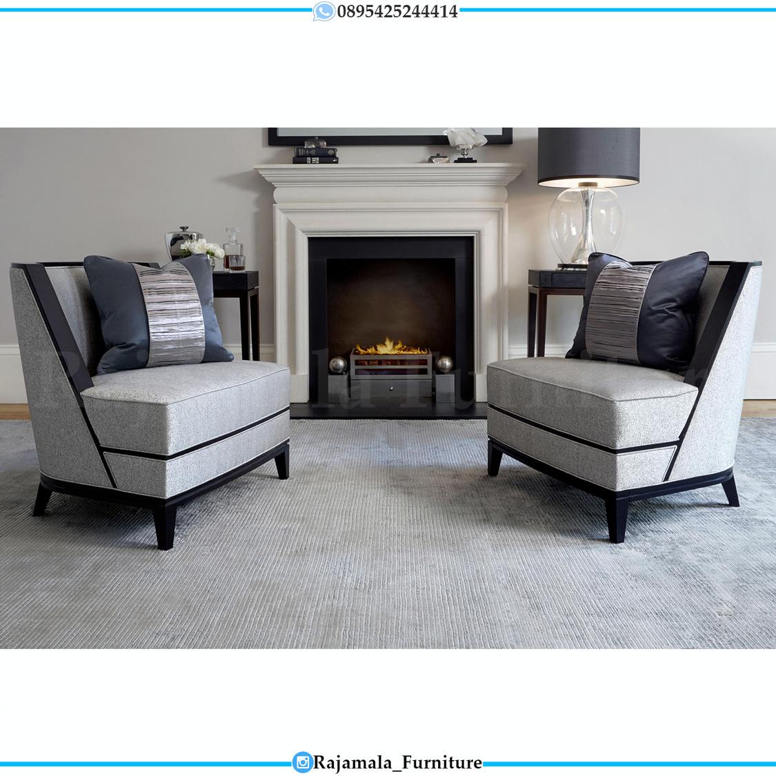 Kursi Teras Minimalis Terbaru Furniture Jepara Classic Luxury Style RM-0536