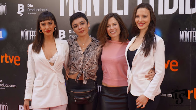La Caza Monteperdio, Photocall, RTVE, La 1, Aria Bedmar, Carla Díaz, Bea Segura y Laura Moray