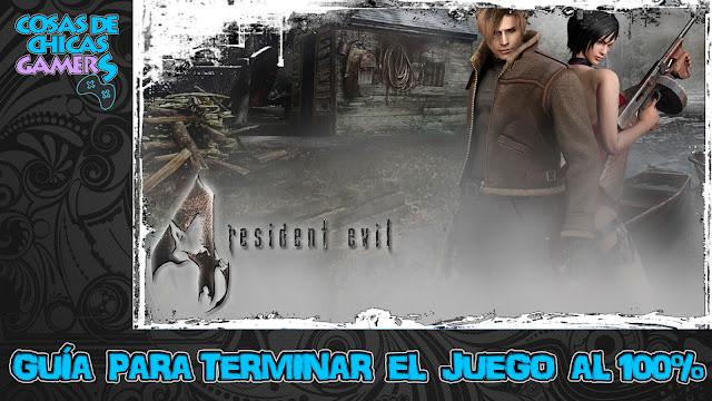 Guía Resident Evil 4 HD para completar el juego al 100%