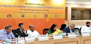 POSHAN abhiyan Meeting Held in New Delhi