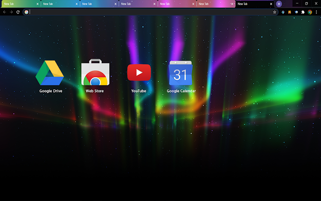 Aurora Chrome Theme