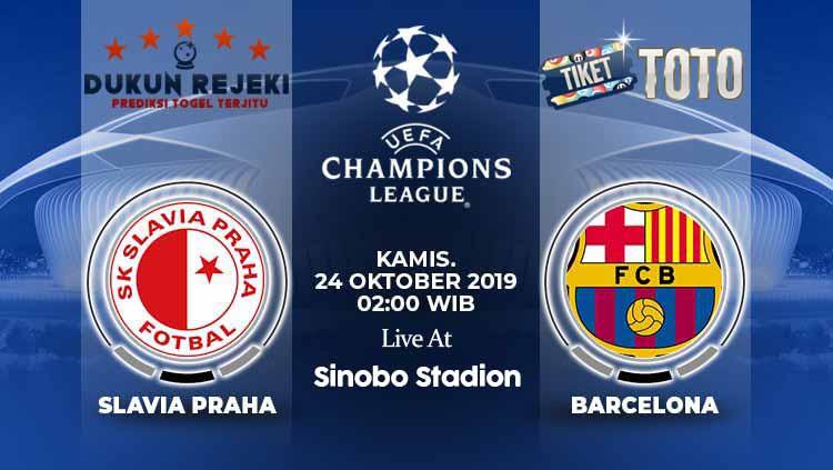 Prediksi Slavia Praha vs Barcelona Liga Champions 24 Oktober 2019