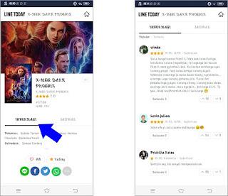 Cara Mengetahui Jadwal Film yang Sedang Tayang di Bioskop dengan LINE