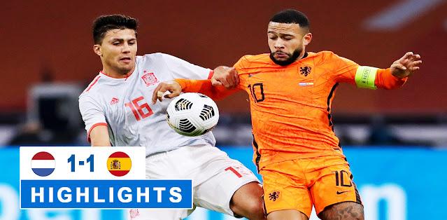 Netherlands vs Spain – Highlights