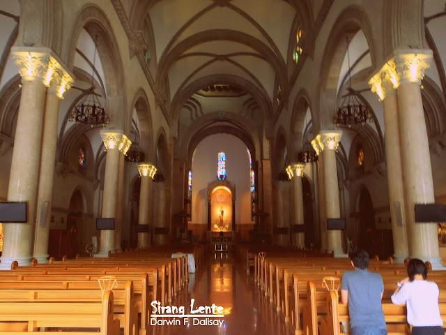 Manila Cathedral Interior