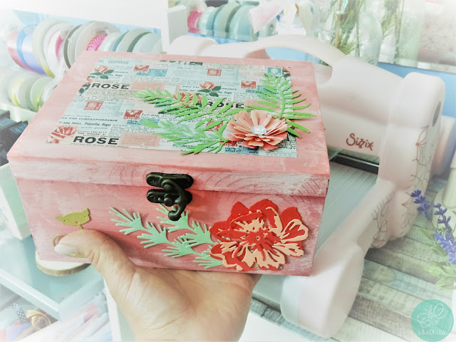 Sizzix | Flores para uma Flor - Caixa decorada
