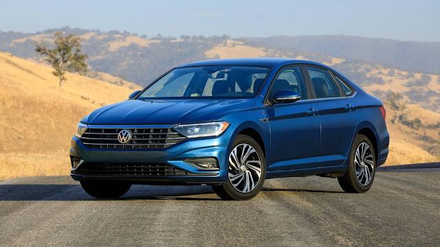 Novo VW Jetta 2019 flagrado em testes em São Paulo - Brasil