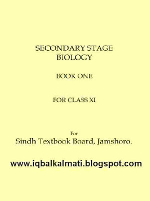 First Year XI Biology Notes PDF Sindh TextBook Board
