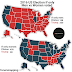 2020 & 2016 US Election if only Men vs Women voted (2 Maps)