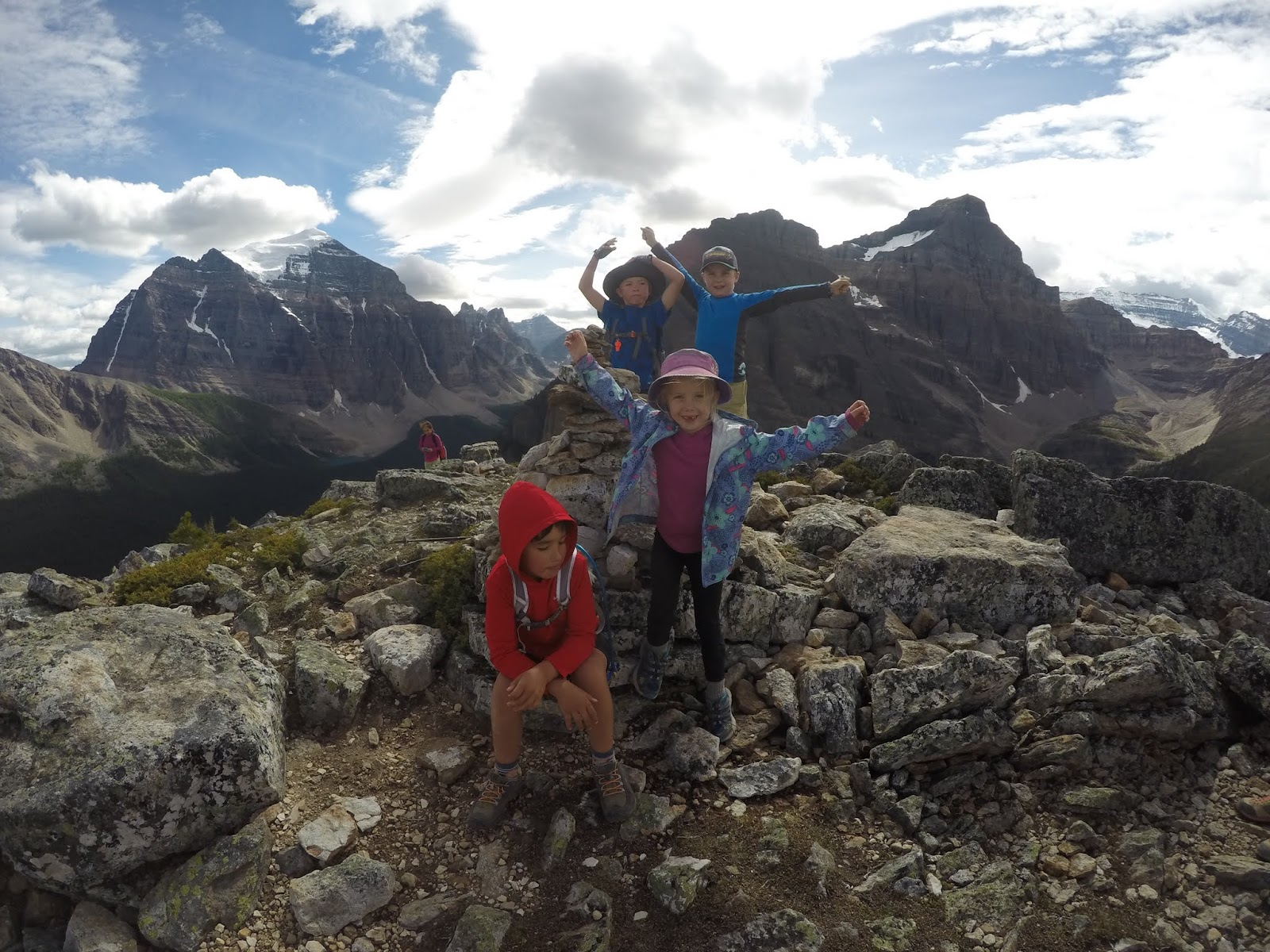 Family Adventures In The Canadian Rockies First Summits