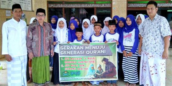 Desa Pancur Jepara Ciptakan Gerakan Matikan TV untuk Belajar dan Ngaji Ba'da Maghrib