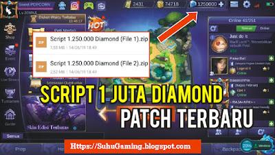 Download Script Diamond Graits 1 Juta Patch Trislia Mobile Legends