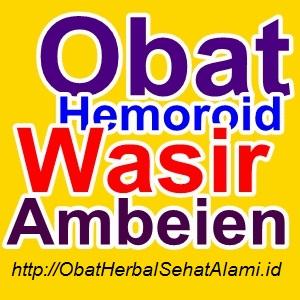 RESEP cara obat herbal alami mengobati wasir/ambeien tanpa operasi~tradaisional
