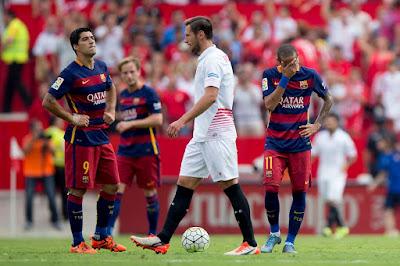Sevilla 2 Barcelona 1