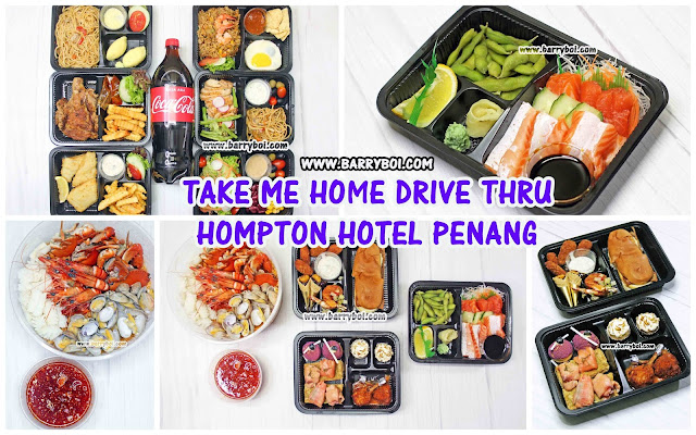 Hompton Hotel Penang Take Me Home Takeaway Penang Blogger Influencer www.barryboi.com Hotel Food
