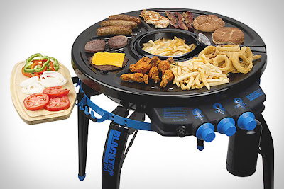 Must Have Backyard Picnic Gadgets - 360 Grill-Fryer