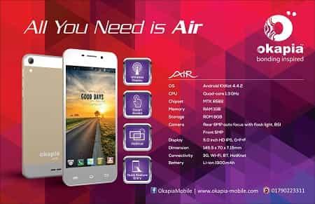 Okapia Air Smartphone