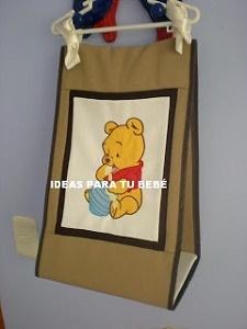 pañalera baby pooh