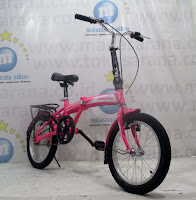 16 evergreen folding bike