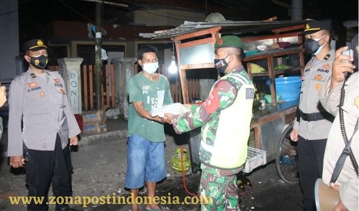 Serentak Bergerak Distribusikan Bansos PPKM Level 3, Polres Jember Gelar Patroli Skala Besar