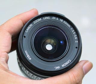 Lensa Canon 18-55mm Non IS 2nd