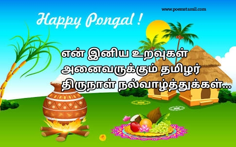 Happy Pongal Wishes Images In Tamil | Tamil Kavithaigal
