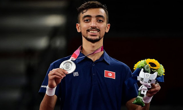 خليل الجندوبي يهدي تونس أول ميدالية في أولمبياد طوكيو 2020 Khalil Jendoubi